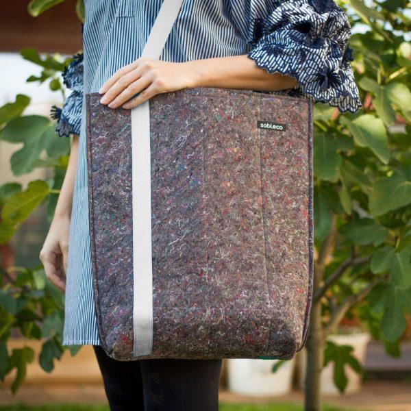 Eko nákupná taška cez plece sobi.eco