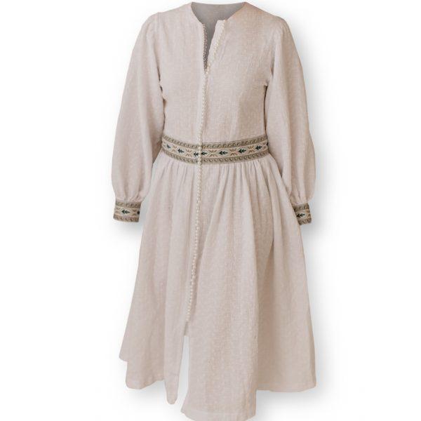 Odfotený produkt - Dlhé mušelínové šaty Love Colors