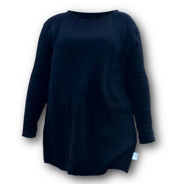 Orez modrá tunika z mušelínovej látky od značky LOVECOLORS