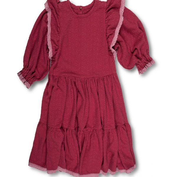 Odfotený produkt - Mušelínové šaty s jemnou čipkou Love Colors