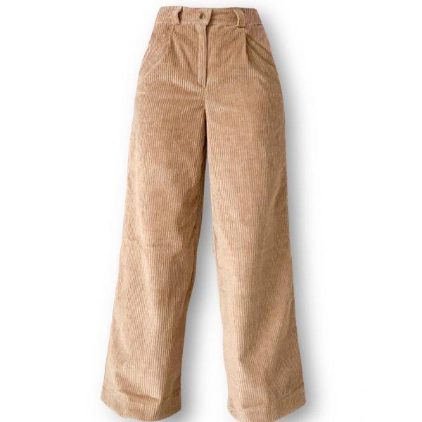 Odfotený produkt Široké menčestrové nohavice Love Colors