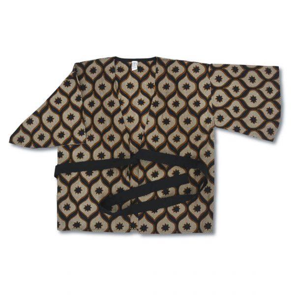 Detail na vzorované bavlnené kimono Ravenala Design
