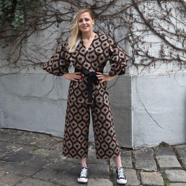 Kimono set s nohavicami na modelke