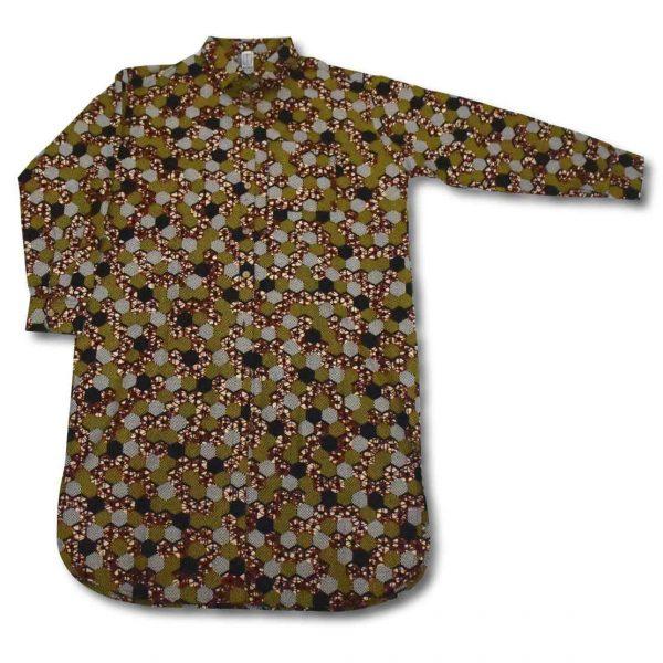 Vzorované košeľové šaty Ravenala Design