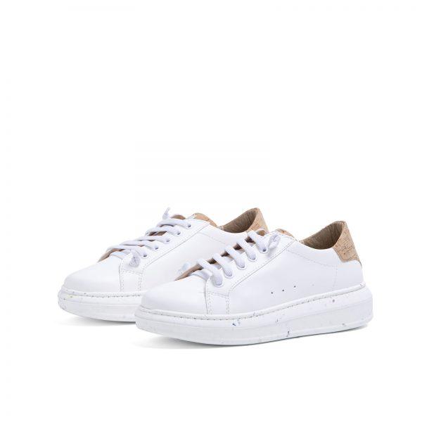 Biele korkové tenisky midori objednáte na SLOVFLOW