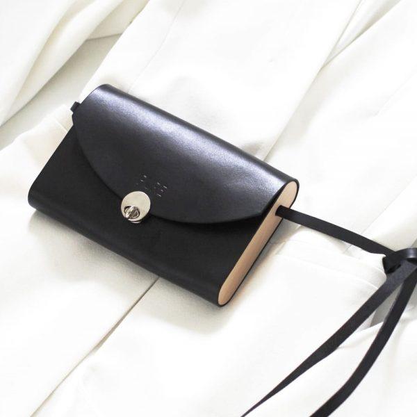 Čierna kabelka PURE