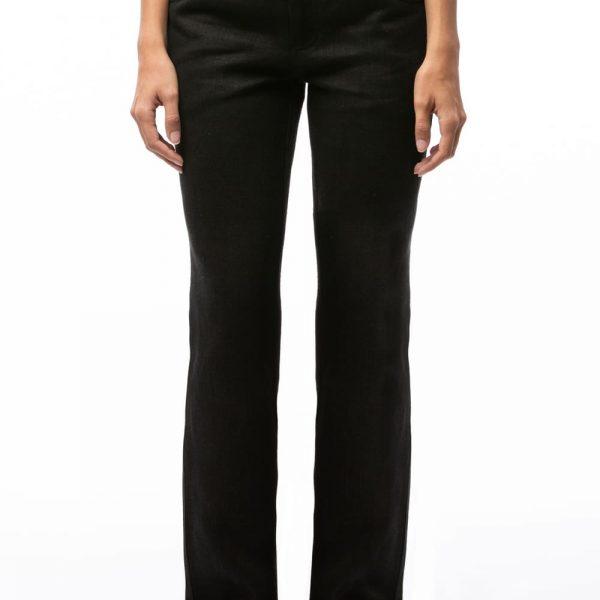 Čierne nohavice dámske vyrobené z konope objednáte na SLOVFLOW