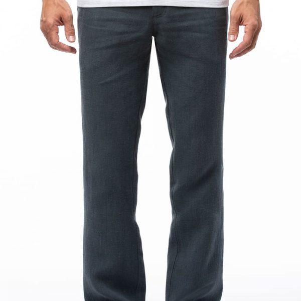 Sivé dlhé nohavice z konope objednáte na SLOVFLOW