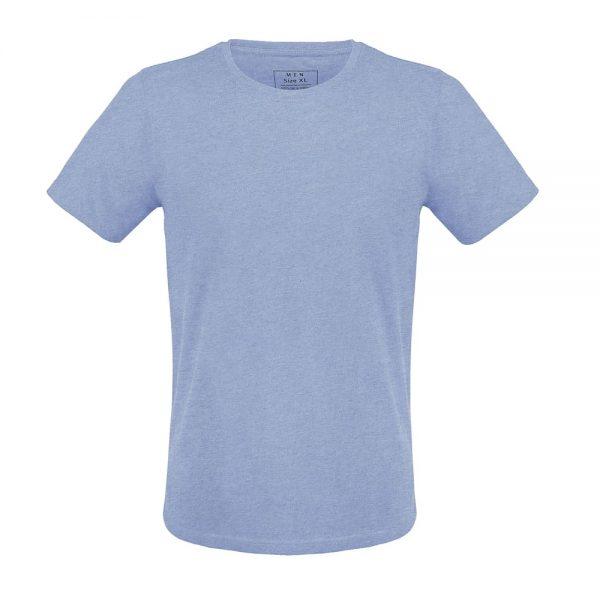 Modré basic tričko pre mužov