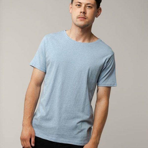 Svetlomodré klasické tričko pre mužov objednáte online na SLOVFLOW