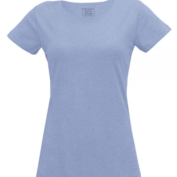 Svetlomodré tričko pre ženy od Melawear