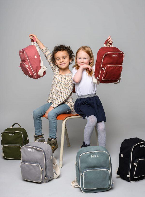 Detské malé ruksaky od udržateľnej značky Melawear objednáte online na SLOVFLOW
