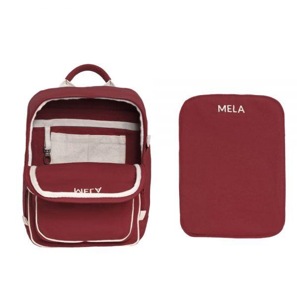 Vnútorné priečinky mini ruksaku Melawear
