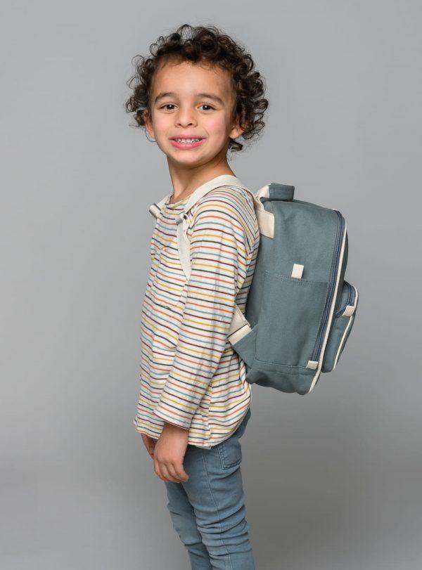 Detský ruksak z organickej bavlny pre chlapcov a dievčatá objednáte na SLOVFLOW